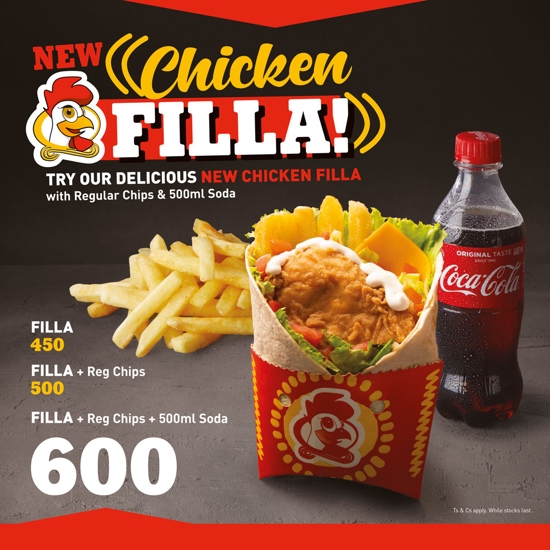 New Chicken filla